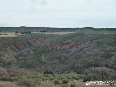El Monasterio del Bonaval y el cañón del Jarama;rutas y senderismo madrid club senderismo madrid g